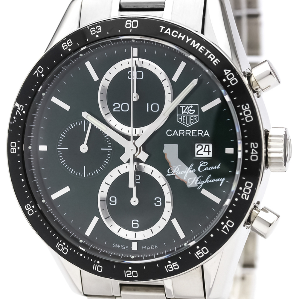 Tag Heuer Carrera Automatic Stainless Steel Men's Sports Watch CV201N