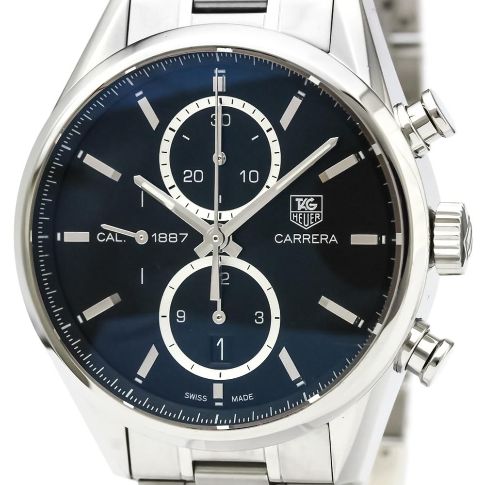 TAG HEUER Carrera Calibre 1887 Chronograph Steel Watch CAR2110