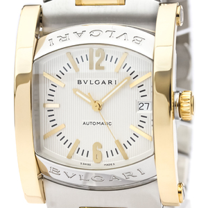 Bvlgari Assioma Automatic Stainless Steel,Yellow Gold (18K) Men's Dress Watch AA44SG
