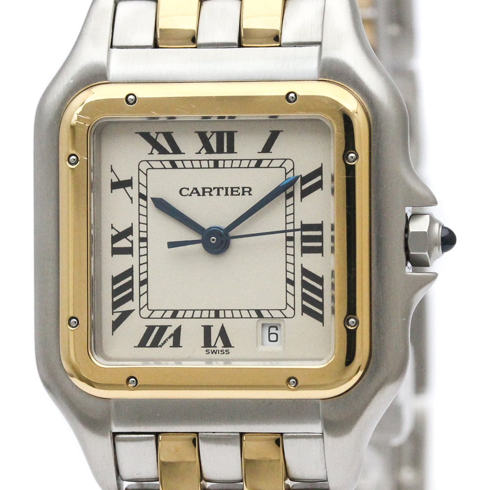 Cartier Panthere De Cartier Quartz Stainless Steel,Yellow Gold (18K) Women's Dress Watch 183949