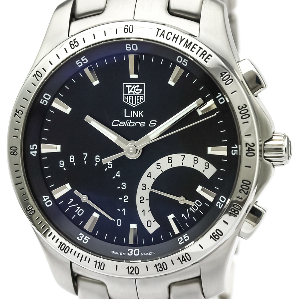 Tag Heuer Link Quartz Stainless Steel Men's Sports Watch CJF7110
