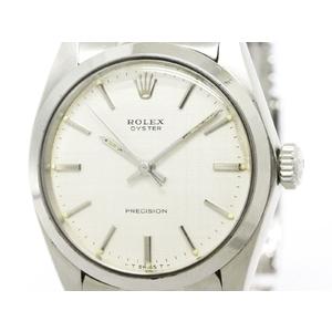 Rolex Oyster Precision Mechanical Stainless Steel Men's Dress Watch 6426