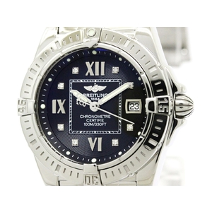 Breitling Cockpit Quartz Stainless Steel Women's Sports Watch A71356