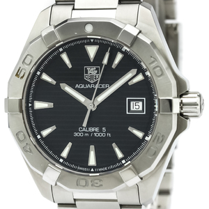 Tag Heuer Aquaracer Automatic Stainless Steel Men's Sports Watch WAY2110