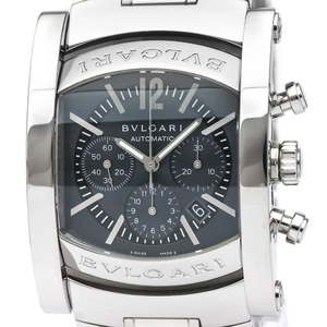 BVLGARI Assioma Chronograph Steel Automatic Mens Watch AA44SCH