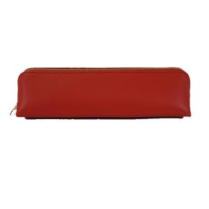 Auth Louis Vuitton Pen Case salmon pink Leather