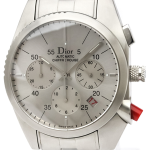 Christian Dior Chiffre Rouge Automatic Stainless Steel Men's Sports Watch CD084611