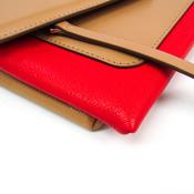 ジバンシィ(Givenchy) デュエット BB05462796 レディース レザー ショルダーバッグ ベージュ,レッド