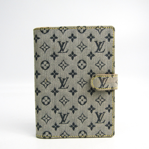 Louis Vuitton Planner Cover Blue Agenda PM R20905