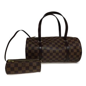 ルイ・ヴィトン(Louis Vuitton) ダミエ N51303 パピヨン30 ハンドバッグ エベヌ