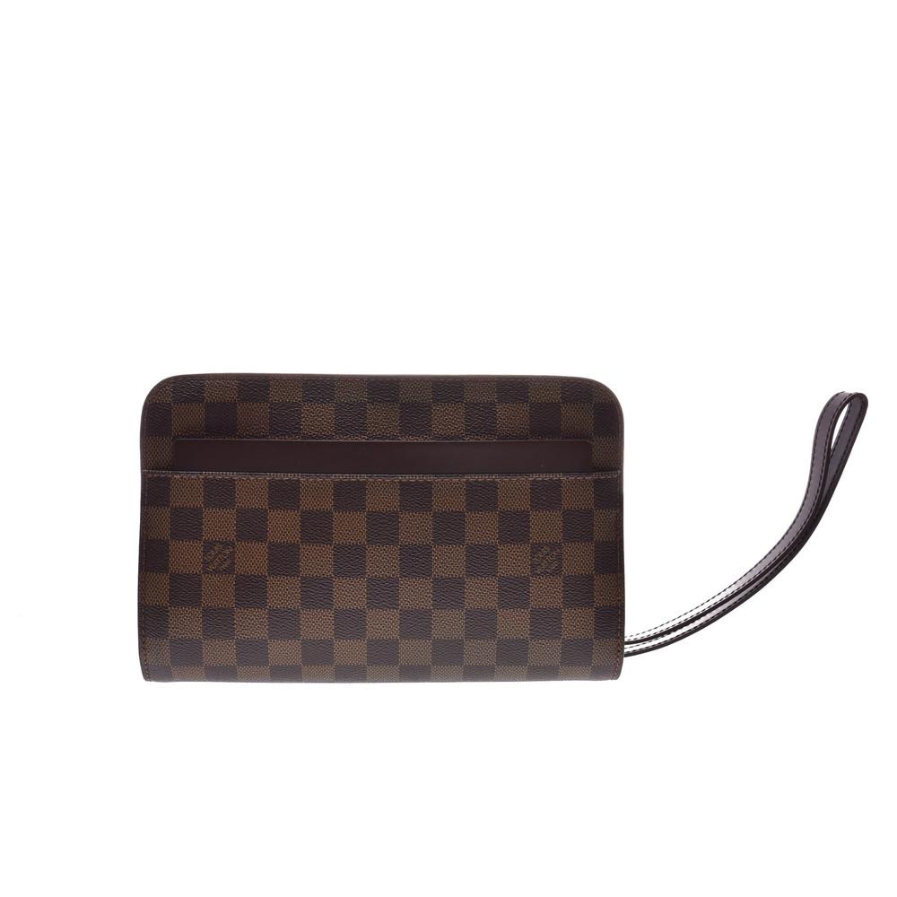 facb55f82078 Louis Vuitton Saint Louis N51993 Women s Clutch Bag Ebene