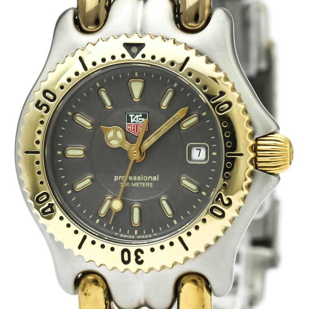 TAG HEUER Sel 200M Gold Plated Steel Ladies Watch WG1320