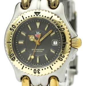 TAG HEUER Sel 200M Gold Plated Steel Ladies Watch WG1320