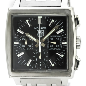 TAG HEUER Monaco Chronograph Steel Automatic Watch CW2111
