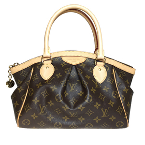 Auth Louis Vuitton Monogram M40143 Women's Handbag TivoliPM