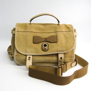 ロエベ(Loewe) カルテロ レディース スエード ハンドバッグ