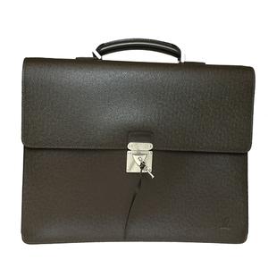 ルイ・ヴィトン(Louis Vuitton) タイガ M31048 ロブスト2 ブリーフケース グリズリ