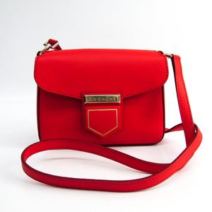 ジバンシィ(Givenchy) NOBILE MINI BAG BB05660009 レディース レザー ショルダーバッグ レッド