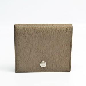 セリーヌ(Celine) 102763TDA レディース  カーフスキン 財布(二つ折り) グレージュ