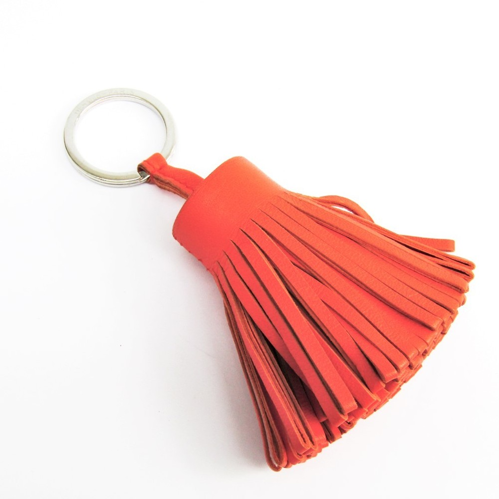 Hermes Carmen Keyring (Orange)
