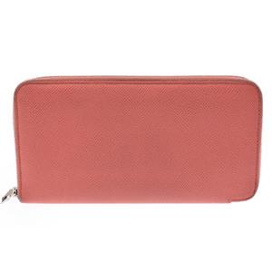 Hermes Women's  Epsom Leather Wallet Rose Jaipur