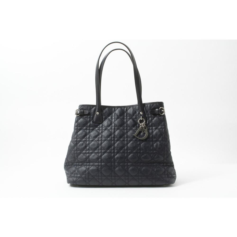Christian Dior Lady Dior レディディオール Women's Bag Navy