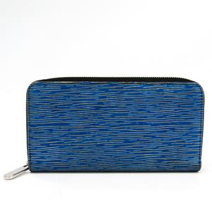 Louis Vuitton Epi Denim Zippy Wallet M61862 Women's Epi Denim Leather Long Wallet (bi-fold) Blue