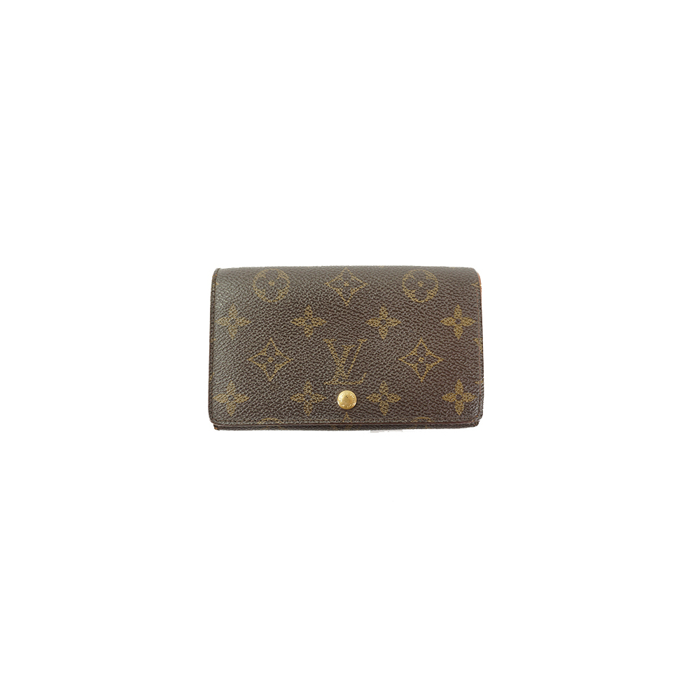 ルイヴィトン 財布 モノグラム ポルトモネビエトレゾール M61730