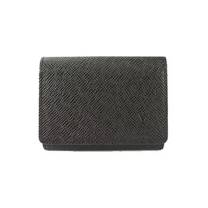 Auth Louis Vuitton name Taiga Enveloppe Carte de Visit Business Card Case M30922