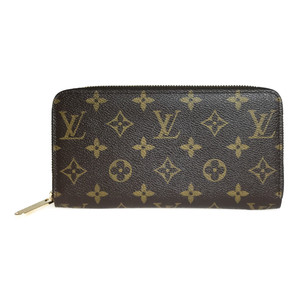 Auth Louis Vuitton Monogram M60017 Long Wallet (bi-fold)  Zippy Wallet