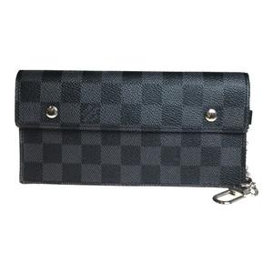 ルイ・ヴィトン(Louis Vuitton) ダミエ・グラフィット N60023 ポルトフォイユ・アコルディオン 長財布(二つ折り)