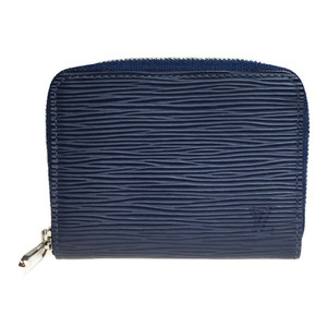 ルイ・ヴィトン(Louis Vuitton) エピ ジッピー・コインパース M60384 財布 小銭入れ インディゴブルー