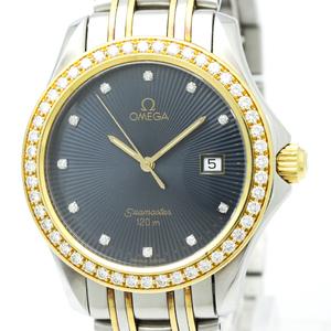 Omega Seamaster Quartz Yellow Gold (18K),Stainless Steel Men's Dress Watch