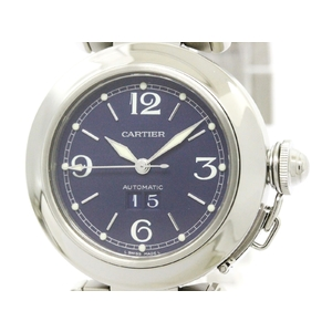 Cartier Pasha C Automatic Stainless Steel Unisex Dress Watch W31047M7