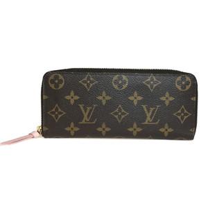 ルイ・ヴィトン(Louis Vuitton) モノグラム M61298 ポルトフォイユ クレマンス ローズバレリーヌ ピンク 長財布(二つ折り)