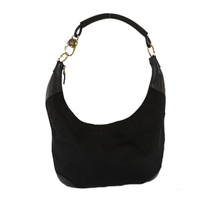 Auth Gucci Shoulder Bag 001・4157 Nylon Black