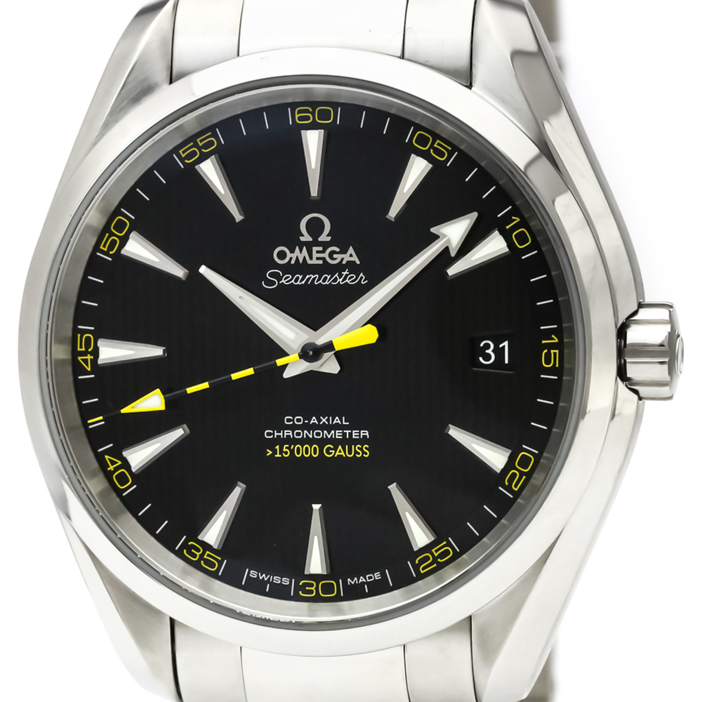 Omega Seamaster Automatic Stainless Steel Men's Sports Watch 231.10.42.21.01.002