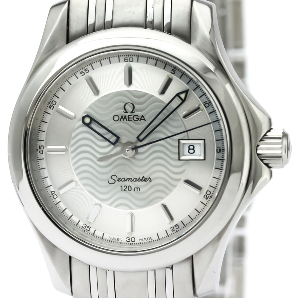 Omega Seamaster Quartz Stainless Steel Women's Sports Watch 2571.31