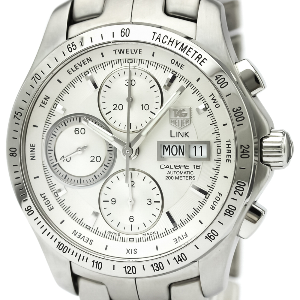Tag Heuer Link Automatic Stainless Steel Men's Sports Watch CJF211B