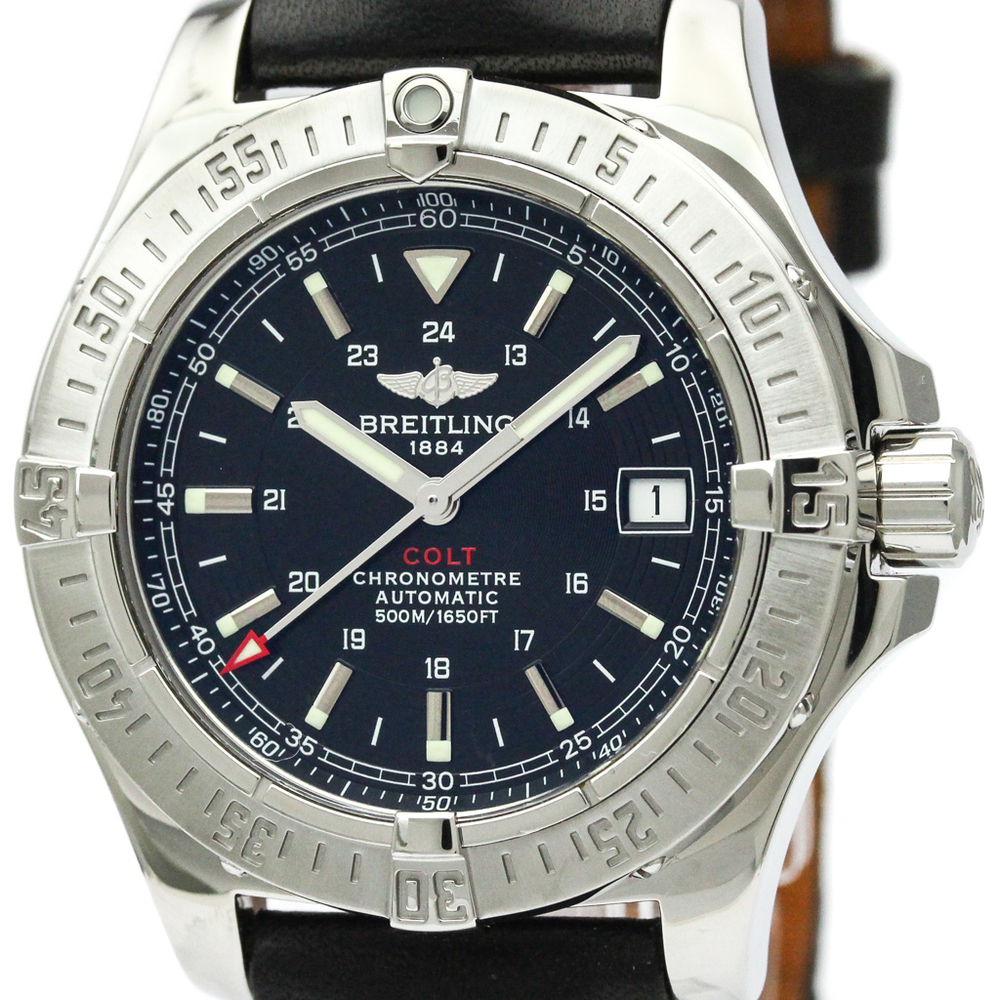 Breitling Colt Automatic Stainless Steel Men's Sports Watch A17380