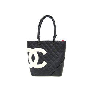 シャネル(Chanel) カンボン・ライン A25167 レディース カンボンライン トートバッグ ブラック,ホワイト
