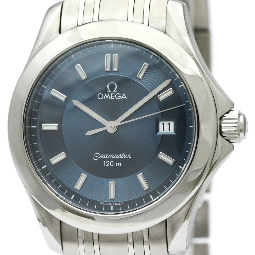 Omega Seamaster Quartz Stainless Steel Men's Sports Watch 2511.82