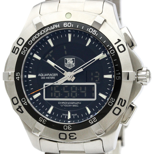 Tag Heuer Aquaracer Quartz Stainless Steel Men's Sports Watch CAF1010