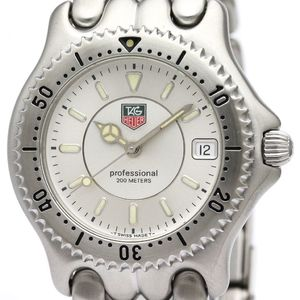 Tag Heuer Sel Quartz Stainless Steel Men's Dress Watch WG111B