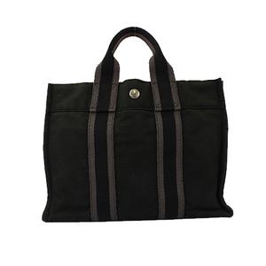 Hermes Fourre Tout PM トートバッグ Totebag Men,Women,Unisex Handbag,Tote Bag Black