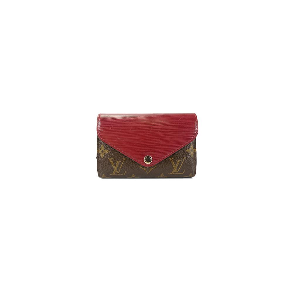 ルイヴィトン 財布 モノグラム ポルトフォイユマリールーコンパクト M60494 フューシャ