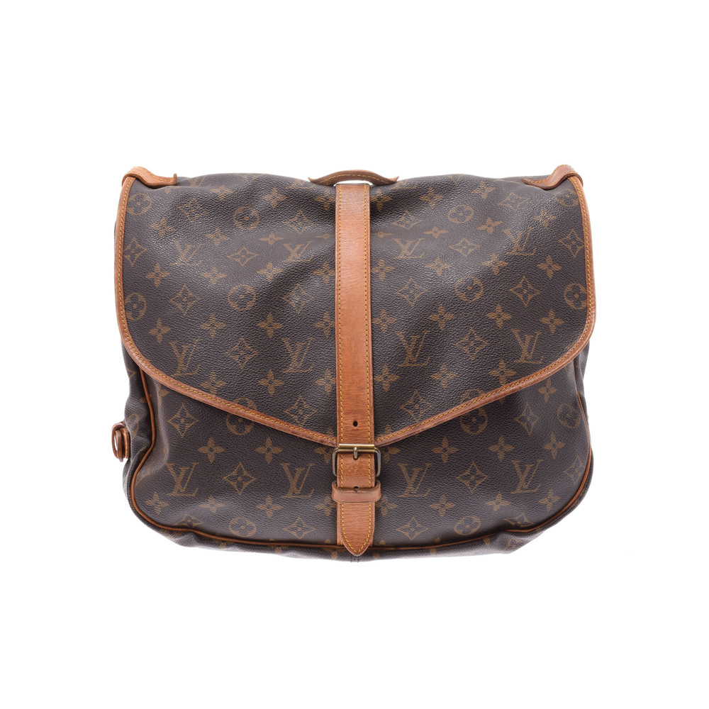 Louis Vuitton Monogram Saumur 35 M42254 Bag