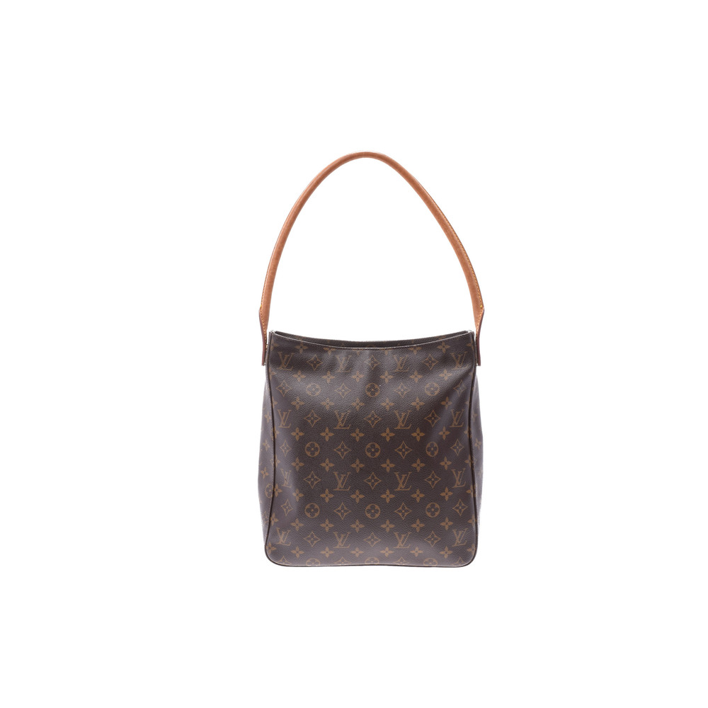 Louis Vuitton Monogram Looping GM M51145 Women's Shoulder Bag Monogram