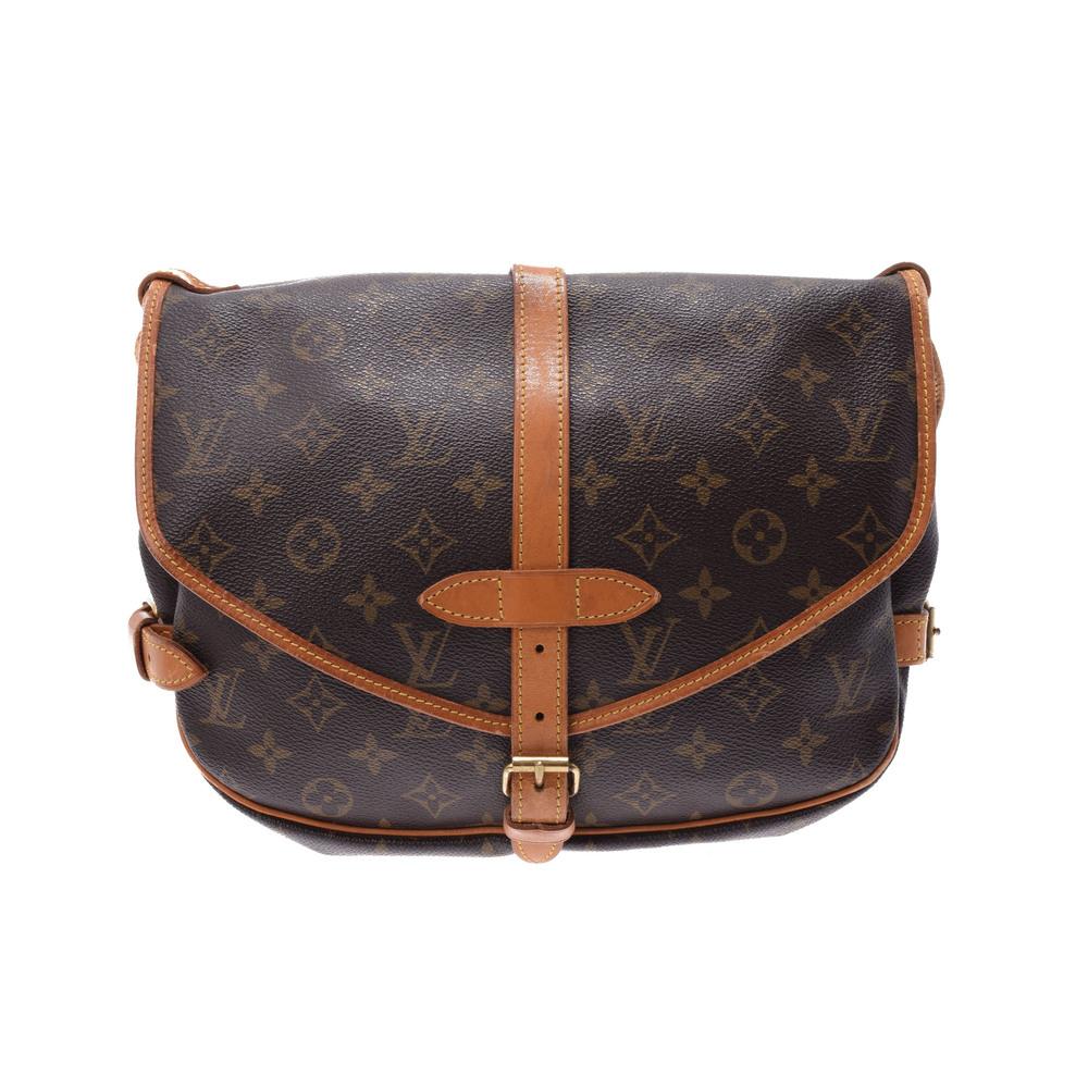 Louis Vuitton Monogram Saumur M42256 Women's Shoulder Bag Monogram