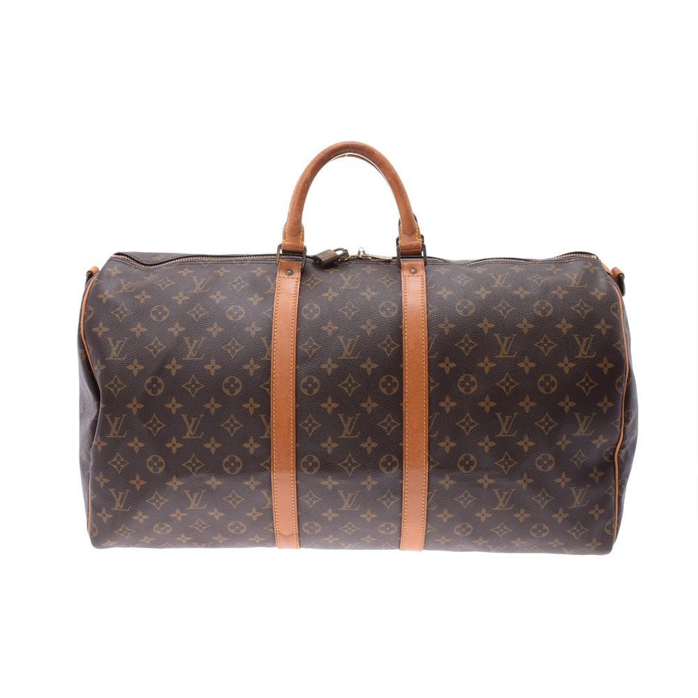 Louis Vuitton Monogram Keepall 55 M41424 Boston Bag Monogram